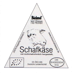 Logo Hof Ahmen Bioschafskäse